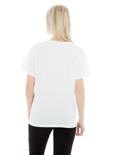 Q Tişört Beyaz